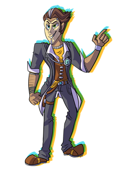 Handsome Jack by WingedLeopard