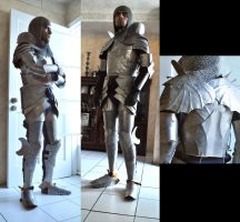 Gothic Inspired Plate Armor by Nosonart