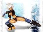 Angel from King of Fighters by Bastet-sama