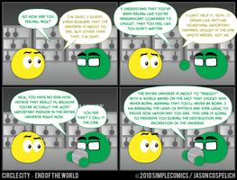 CC443 - End of the World 43 by simpleCOMICS