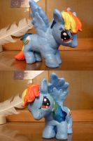 My Little Poly: Rainbow Dash by Alcor-Mizar