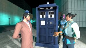The Doctor (Dr. Who) meets the Doctor (Dr. Why) by MarcoMetalWolf