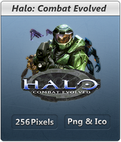 Halo Combat Evolved - Icon by Crussong