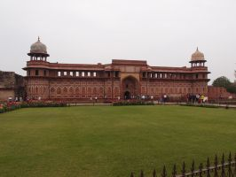 India - The Red Fort by framboisie