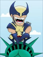 Wolverine by L-E-M-O