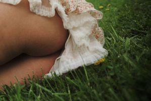 On the Grass by ixabar
