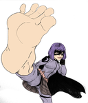 Hit-Girl's kick(-ass) by Murati2882 (colored) by totoofzefrance