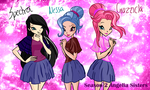 Winx: Angelia Sisters by DragonShinyFlame