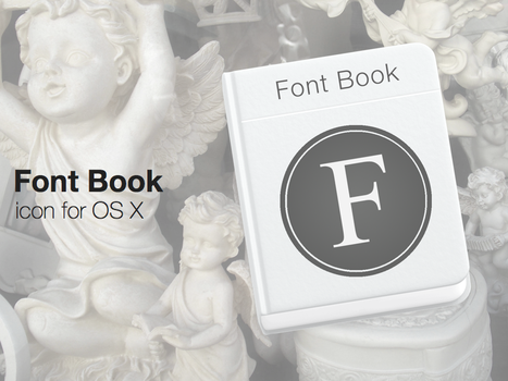 Font Book Icon by ChildrenAreWatching