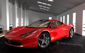 Ferrari 458 Italia final by Olotocolo