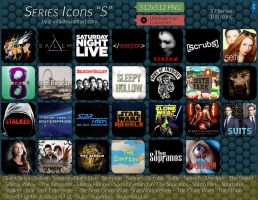 TV Series Icons S by g-Vita