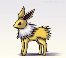 Jolteon Animation by Kattling