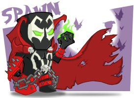 Spawn by happymonkeyshoes