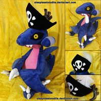 Gunpowder the Gabite - Plush by SleeplessTotodile