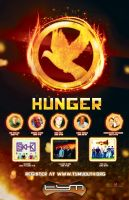 Commissioned Youth camp poster Hunger Games themed by PastorRoy