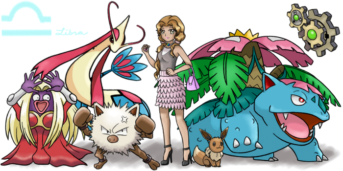 Pokemon Trainer Livia (Libra) by Call-Of-The-Indie