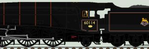 LNER A4 liveries - what if by 2509-Silverlink