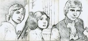 Sketch Cards: Rebels by JasonShoemaker