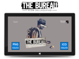 The Bureau: XCOM Declassified Icon by Ni8crawler