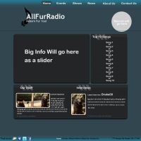 AllFurRadio Template 1 by Drake09