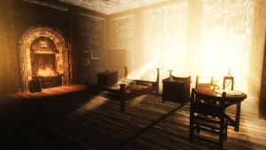 Bedroom in the palace of the kings by skyrimphotographer