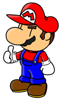 Mario by The-Bladed-Beast