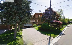 Toronto House, Canada - Google Street View by Wittermark