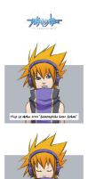 Neku - frustration by SueKeruna