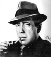 Humphrey Bogart by Dead-Beat-Nick