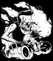 Zombie Hotrod by zombie-you