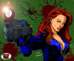 BURGOS' BLACK WIDOW 2 by DeadDog2007