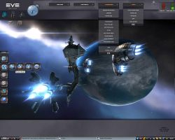 EVE online theme by krishna-withe