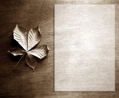Lit. template - Chestnut Leaf by rockgem
