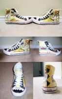 Mah Soul Eater Shoes by BlooCheez