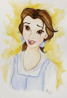 Belle The Bookworm by Cecilia-Pekelharing