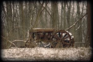 Another Old Tractor by jmarie1210