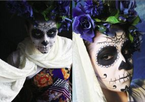 Sugar Skull by SelyaChan