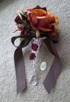 Bridesmaid bouquets by LadyJamie