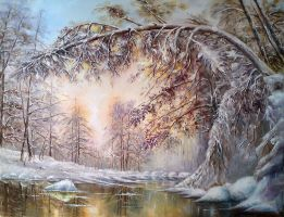Winter in the realm of the tal by Ilona41