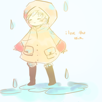 Love the rain by kyunyo