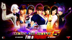 DEAD OR ALIVE 5 ~ Girl Wallpaper by Leifang12