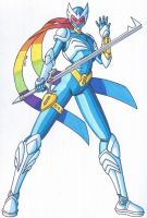Toku OCD- Rainbow Spectrum Warrior Chromia by RobertMacQuarrie1
