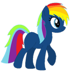 My new Earth Pony OC Rainbow Night by LR-Studios