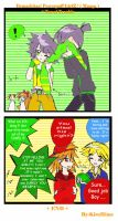 Manga - Towel Trouble_Green Couple by KiraHime