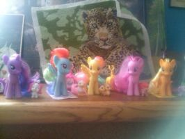 My Little Pony Mane Six Collection by xNightSurferx