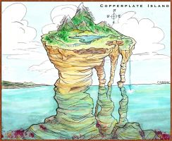 Copperplate Island by s-mores