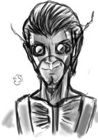 A sketch A Day: Electagonist by Electagonist