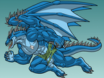 Beastly Bahamut by Jay-Shell