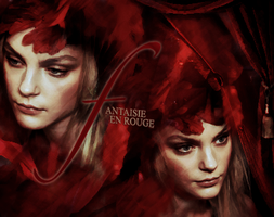 fantaise en rouge by claudiaV3
