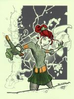 Teenage Poison Ivy by Pencilbags